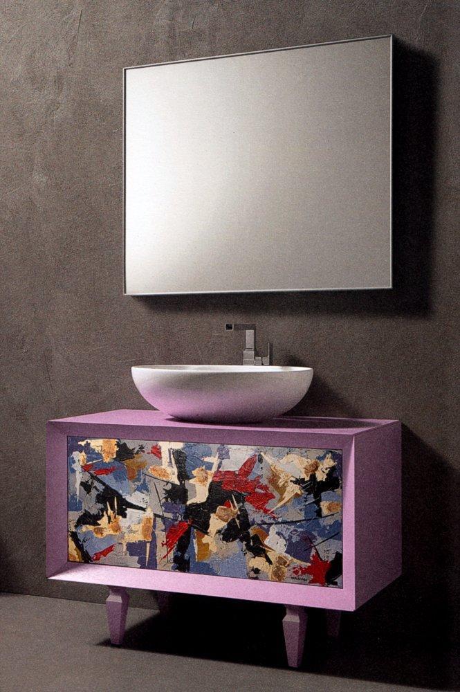 designer badezimmerm bel schwarz und wei 828566. Black Bedroom Furniture Sets. Home Design Ideas