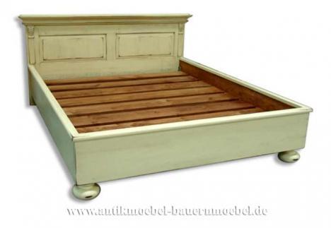 bet 04 d bett doppelbett landhausstil shabby chic 221628. Black Bedroom Furniture Sets. Home Design Ideas