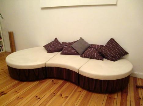 Einzelstück   Designer Lounge Möbel, Wohnlandschaft, Sofa, Couch   219858