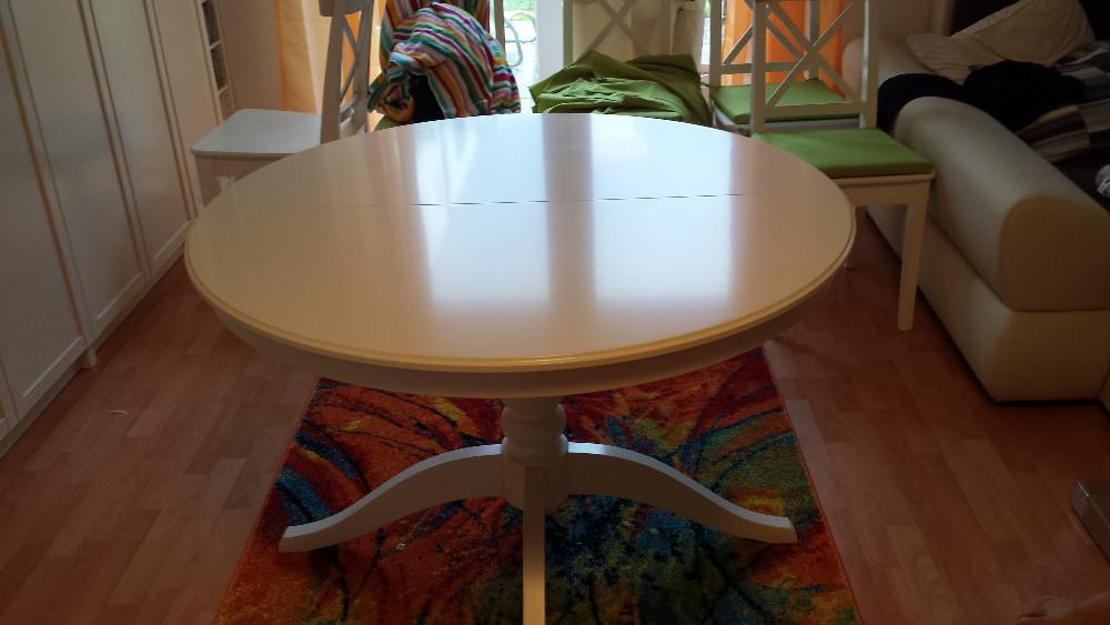 esstisch ingatorp ausziehtisch ikea 862617. Black Bedroom Furniture Sets. Home Design Ideas
