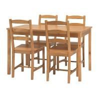 esstisch mit 4 st hlen von ikea 521905. Black Bedroom Furniture Sets. Home Design Ideas