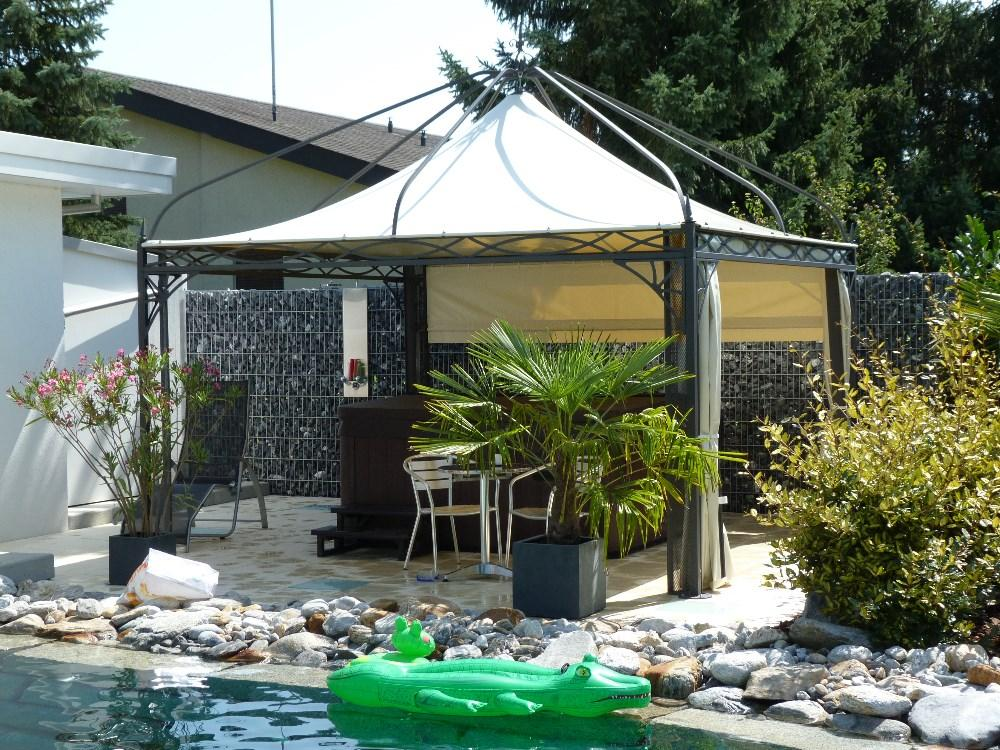 exclusive gartenzelte exclusive gartenpavillon zelte. Black Bedroom Furniture Sets. Home Design Ideas