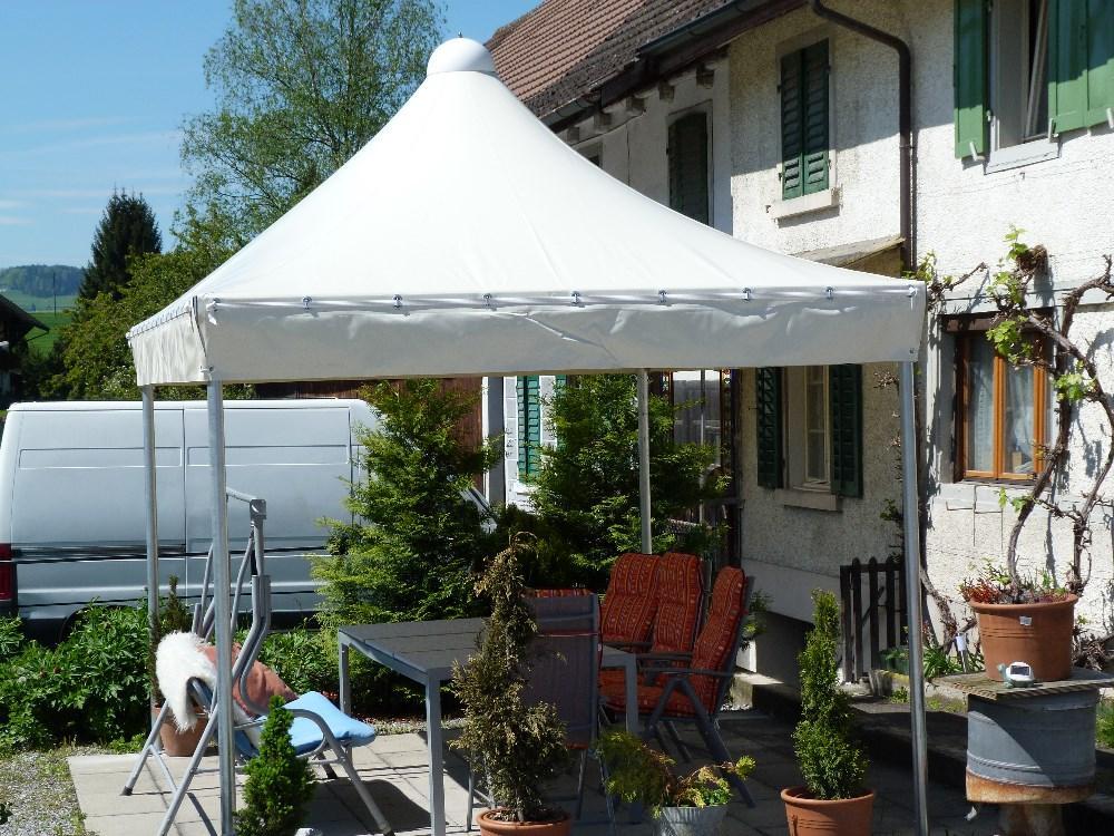 ganzjahreszelt gartenzelt pavillon unterstand. Black Bedroom Furniture Sets. Home Design Ideas