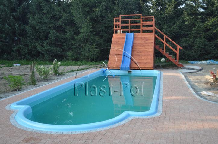 Gfk schwimmbecken 10 00x3 20x1 50 pool einbaubecken for Pool komplettset