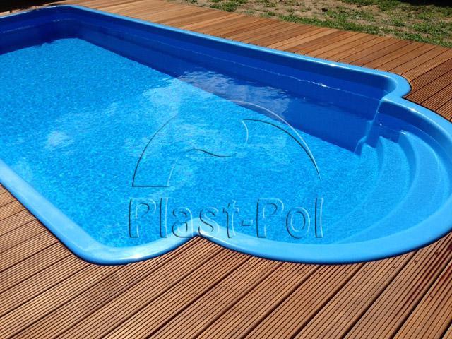 Gfk schwimmbecken 5 00x3 00x1 50 pool einbaubecken for Komplett pool