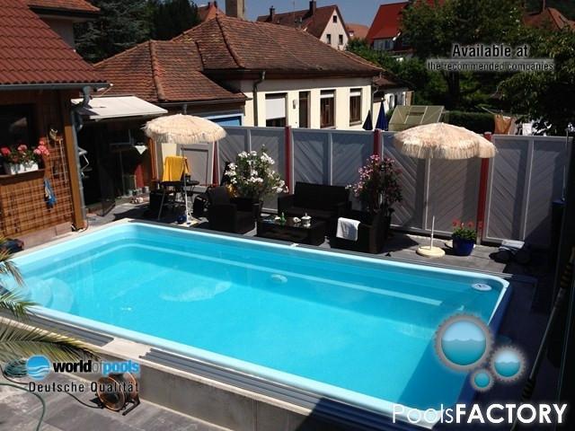 Gfk Schwimmbecken, Fertigbecken, Garten Pool   Ontario/Ap   888696