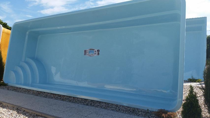 Gfk schwimmbecken fertigbecken garten pool ontario ap for Gartenpool 1 20