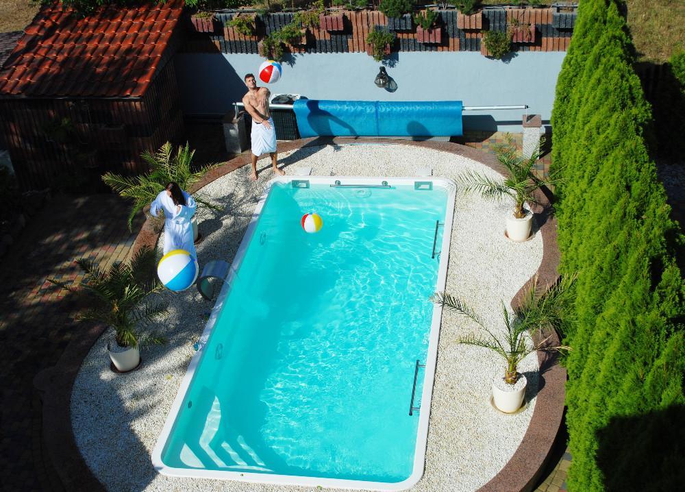 Gfk Schwimmbecken Fertigbecken Garten Pool SwimmingPool Venus Ap .