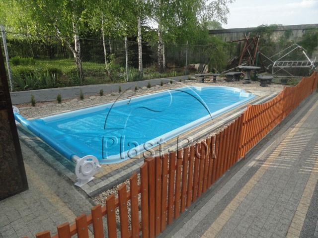 Gfk Schwimmbecken Swimming Pool 8,00 X3,20 Ausverkauf Set   853006