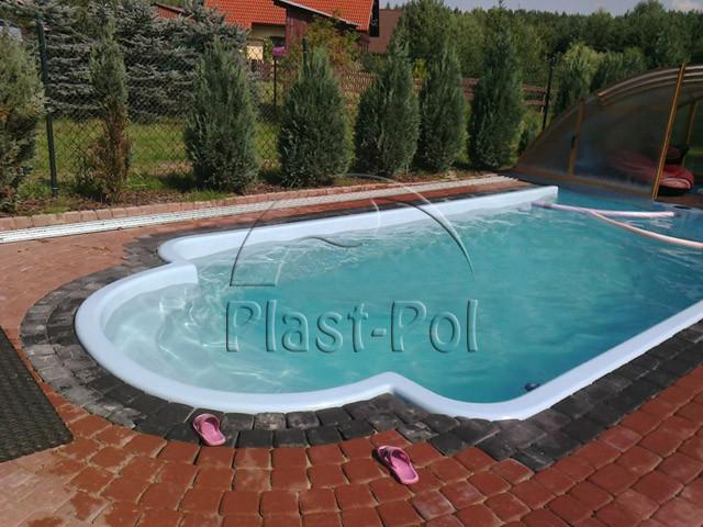 Gfk schwimmbecken swimming pool 8 00 x3 20 ausverkauf set 853006 - Gfk pool komplettset ...