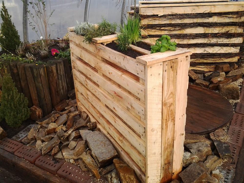Green Workshop Bau Dir Eine Bank Oder Hochbeet Aus Paletten 874742