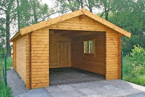 g nstige gartenh user pavillon garage fasssauna. Black Bedroom Furniture Sets. Home Design Ideas