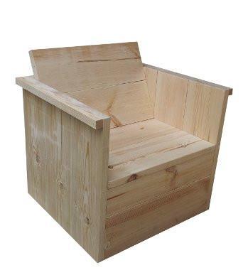 holzsessel holzm bel gartenm bel 832507. Black Bedroom Furniture Sets. Home Design Ideas
