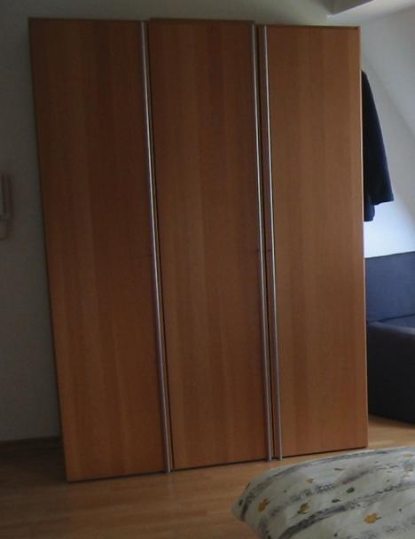 Hülsta NOW! Schlafzimmerschrank Neuwertig! 3 Türen! Buche! - 219107