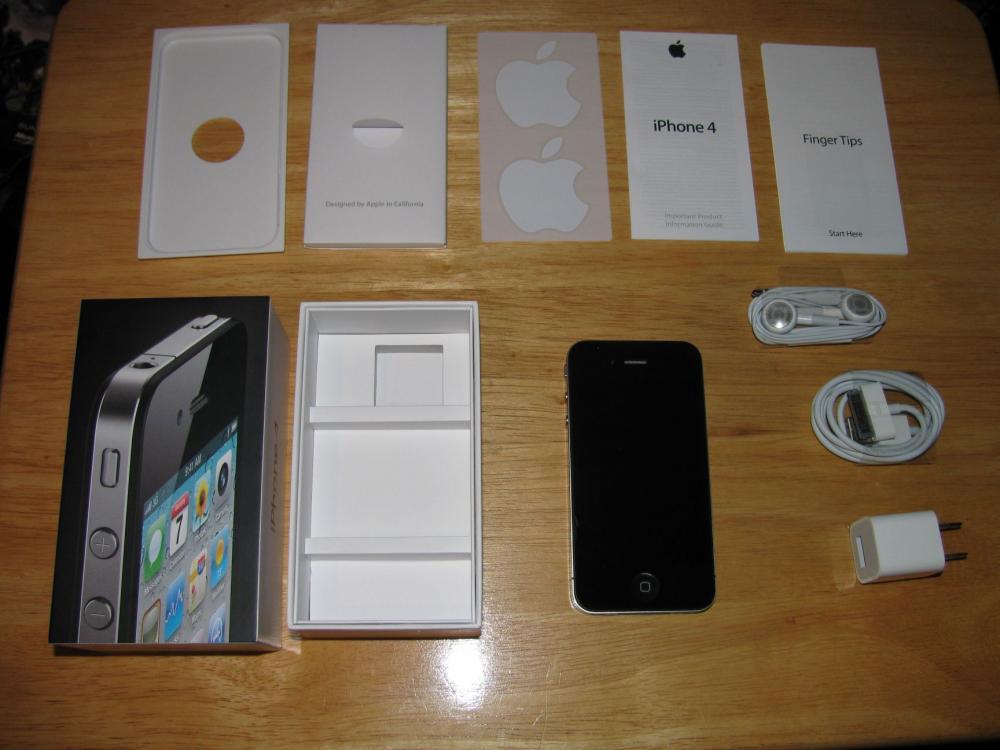 iphone 4 32 gb neu und original verpackt 100 st ck bitte. Black Bedroom Furniture Sets. Home Design Ideas