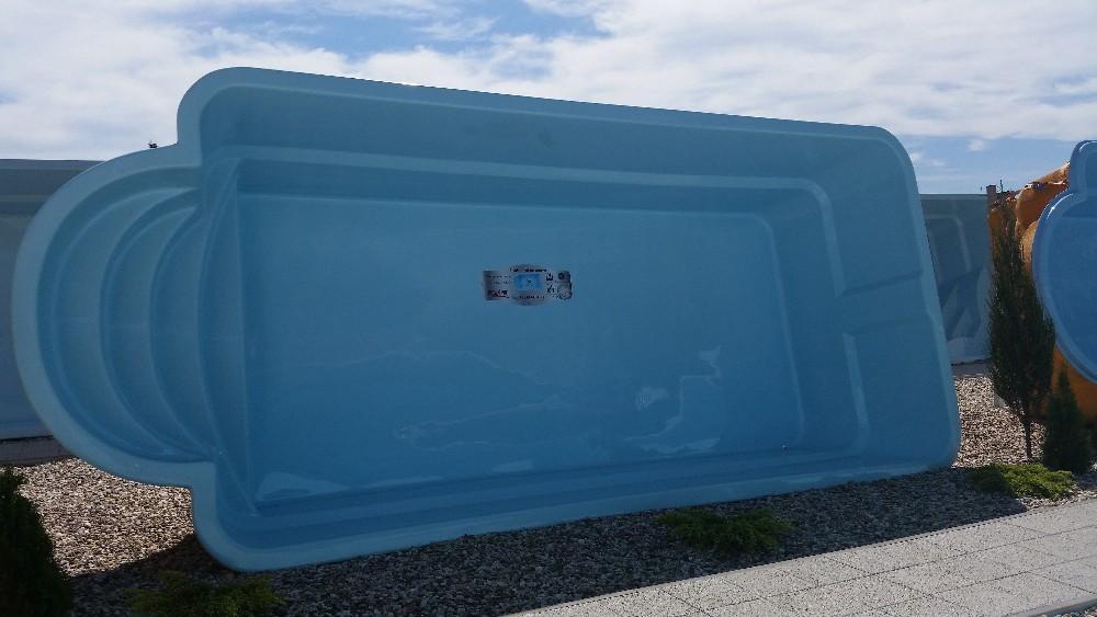 J. GFK Schwimmbecken, Einbaubecken, Polyester Pool, Fertigbecken!   887807