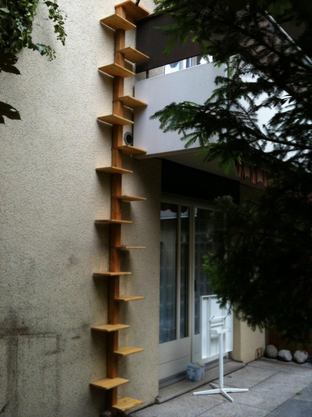 katzenleiter katzentreppe katzenwendeltreppe sr 200886. Black Bedroom Furniture Sets. Home Design Ideas