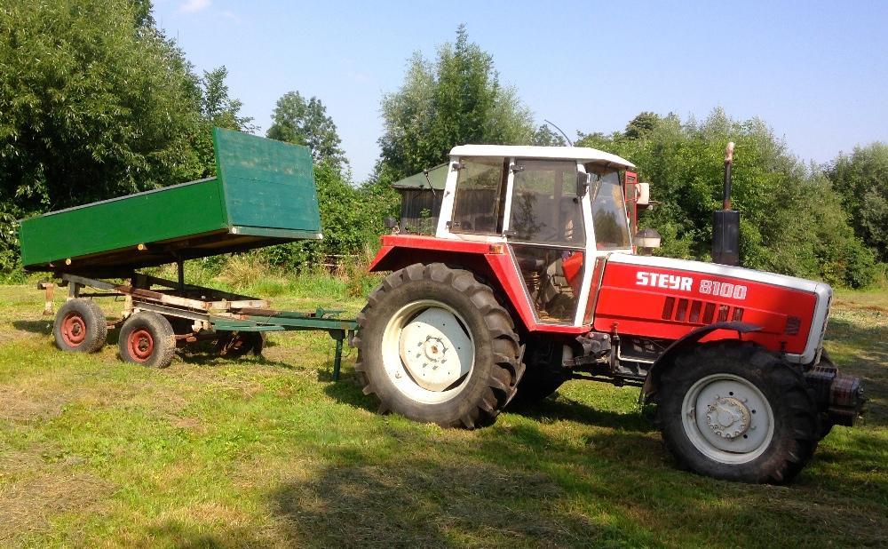 kipper auf tandem achse f r traktor 881622. Black Bedroom Furniture Sets. Home Design Ideas