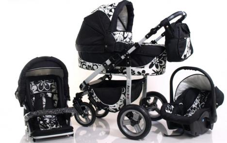 kombi kinderwagen 3in1 neu und originalverpackt 302346. Black Bedroom Furniture Sets. Home Design Ideas