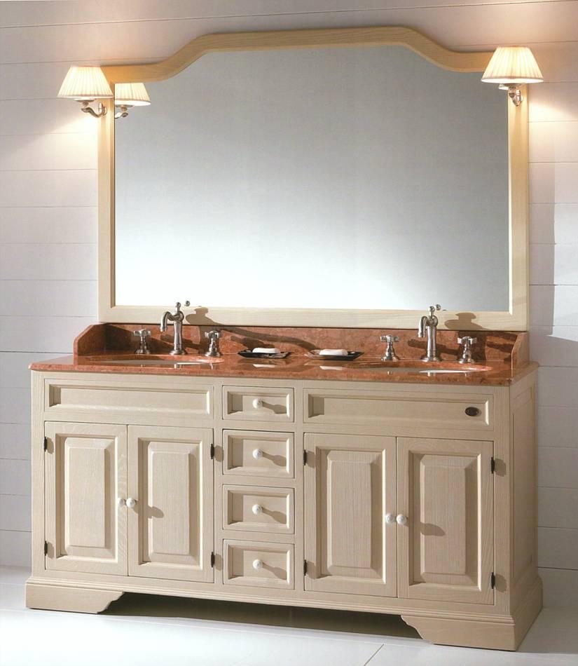Landhaus Badezimmermöbel Elisabetta für zwei Personen - 828760