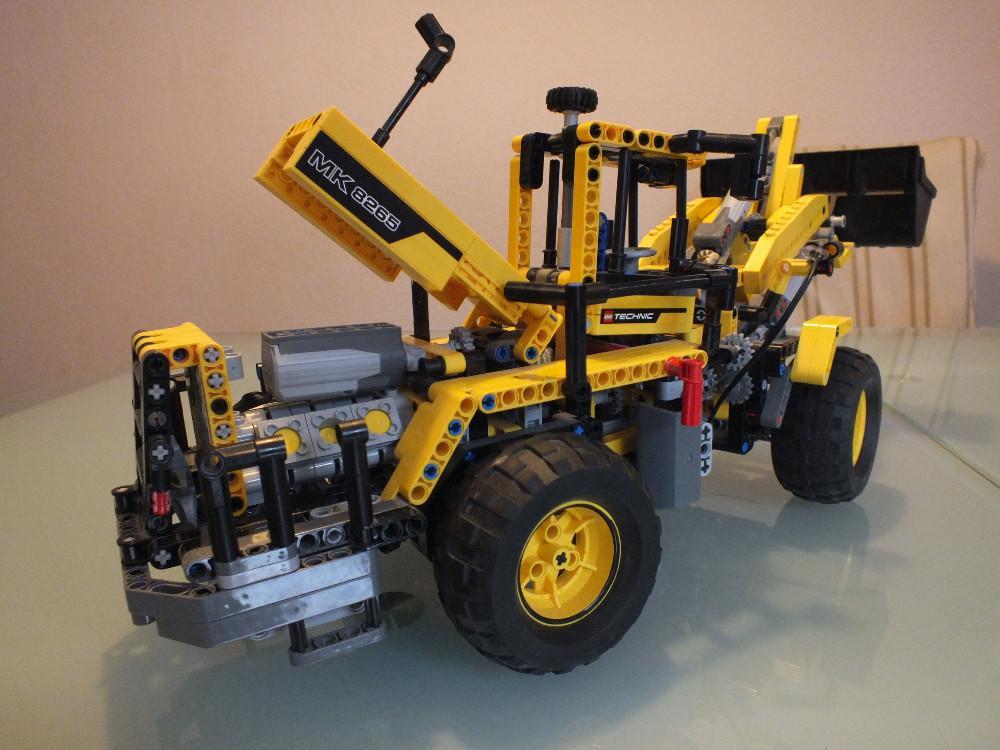 lego technic radlader extreme offroader 2 851051. Black Bedroom Furniture Sets. Home Design Ideas