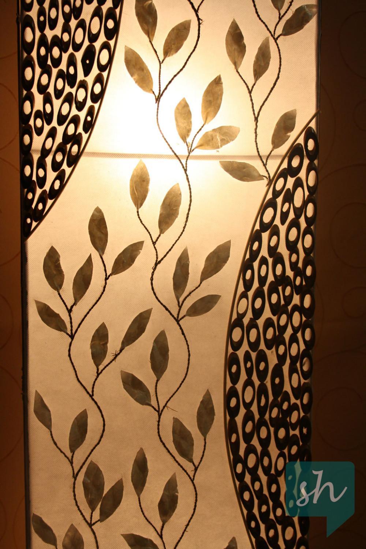 leuchte lampe stehlampe perlmutt 868294. Black Bedroom Furniture Sets. Home Design Ideas
