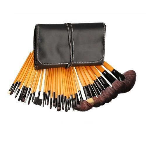 Make Up Pinsel Set Günstig 32tlg Pinselset Mit Etui 863903