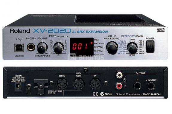 M dulo de sonidos roland xv 2020 para comprar en legan s a trav s de anuncios privados - Instrumentos musicales leganes ...