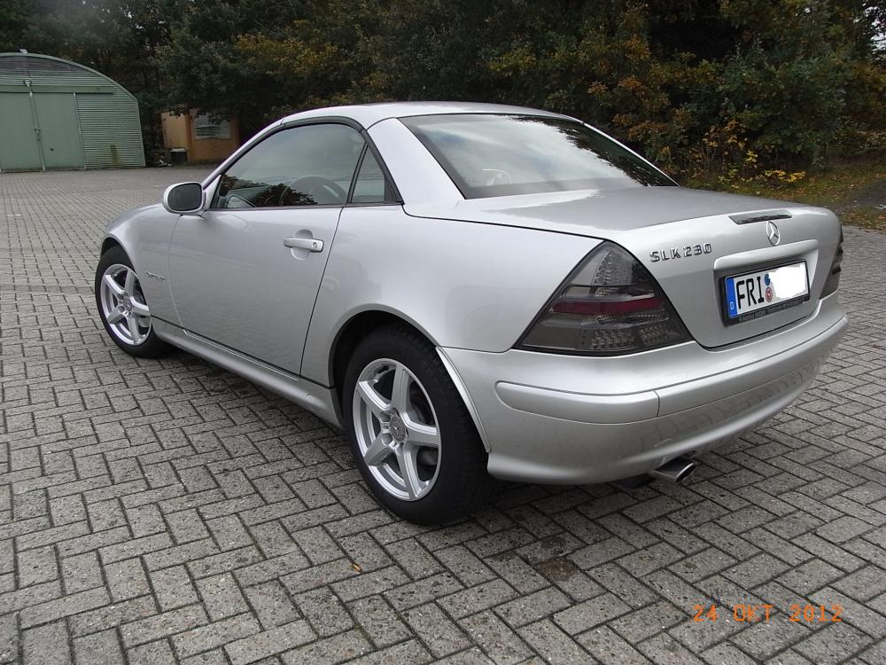 Mercedes SLK 230 Kompressor wenig KM neuer Preis - 823639