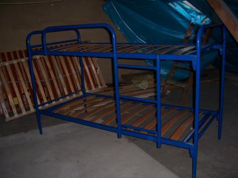 Etagenbett Zu Verkaufen : Metall etagenbett blau günstig zu verkaufen vb! 244021
