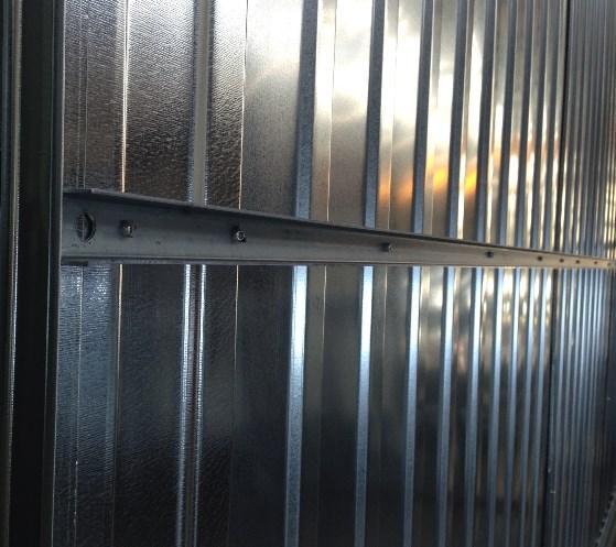 metallgarage blechgarage garage schuppen fertiggarage nach ma 851005. Black Bedroom Furniture Sets. Home Design Ideas