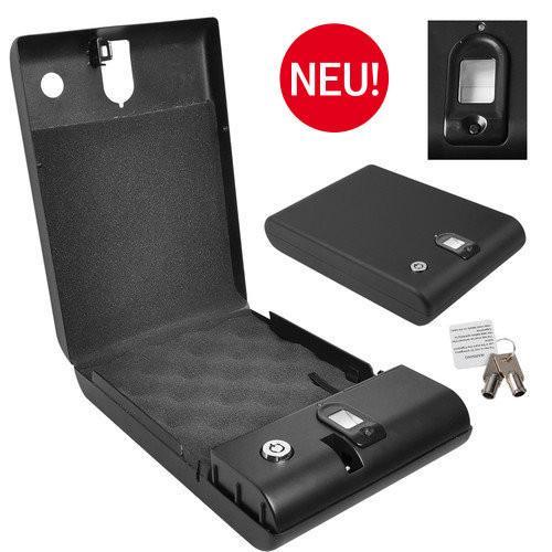mobiler tragbarer safe fingerabdruck tresor gastro waffe schmuck 891056. Black Bedroom Furniture Sets. Home Design Ideas