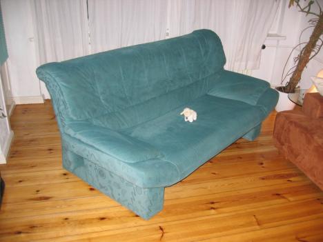 moderne sofagarnitur 3 sitzer und sessel von m bel h ffner. Black Bedroom Furniture Sets. Home Design Ideas
