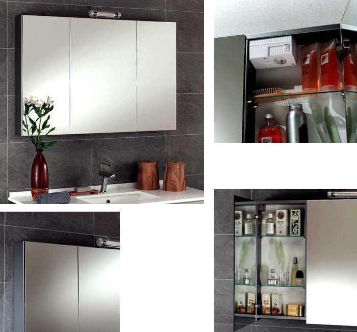 moderner waschtisch wandh ngend mit spiegelschrank 860536. Black Bedroom Furniture Sets. Home Design Ideas