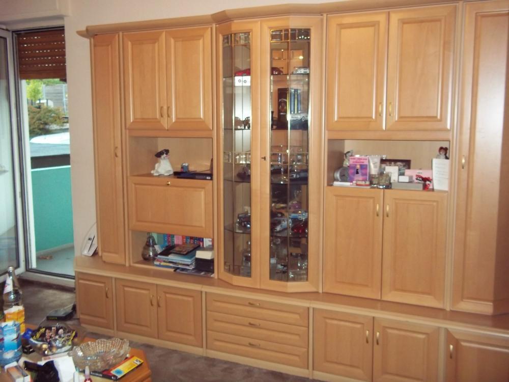 Moderner Wohnzimmerschrank mit Glasvitrine - 820856