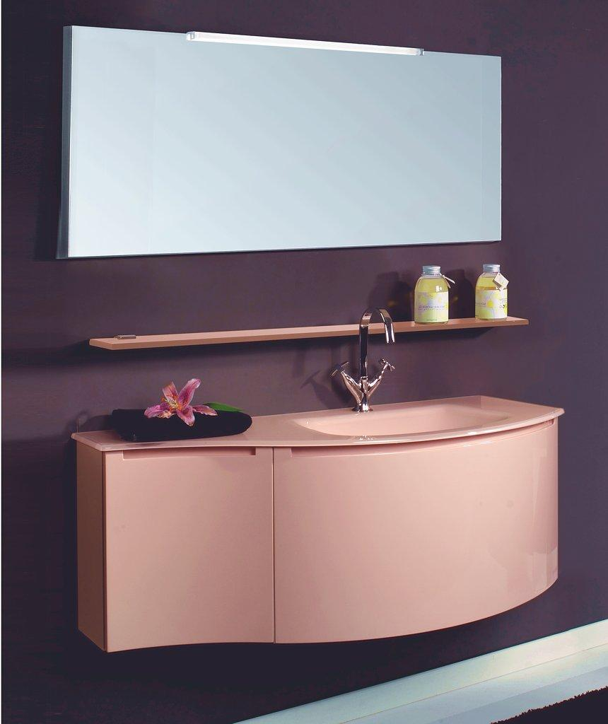 Modernes Badezimmermöbel In Rosa Oder Pink
