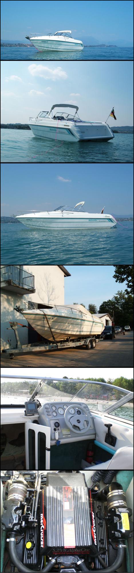 Motorboot von privat zu vermieten am gardasee 217428 for Privat haus zu mieten