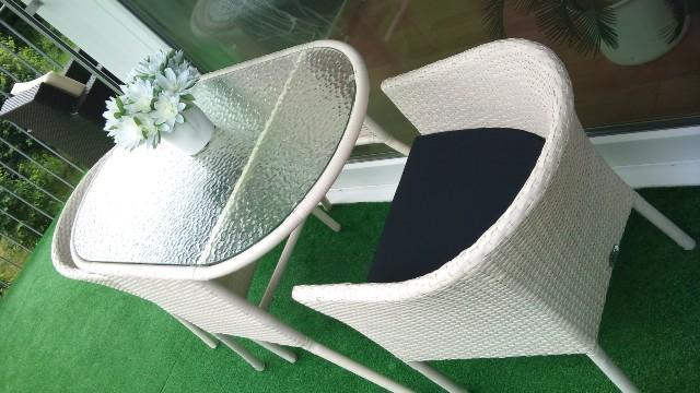 rattanm bel balkon. Black Bedroom Furniture Sets. Home Design Ideas