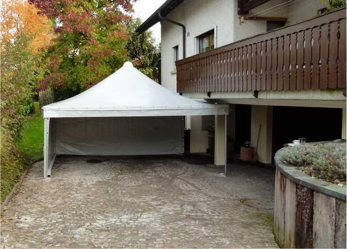 pvc zelt pavillon carport rauchrezelt weidezelt smokerzelt 829306. Black Bedroom Furniture Sets. Home Design Ideas