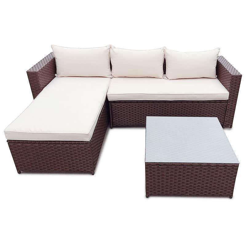 Rattan Gartenmöbel Gartenset Sitzgruppe Garnitur Lounge Sofa NEU ...