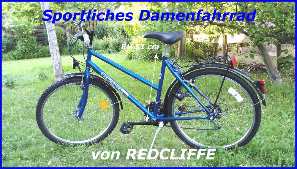redcliffe damenfahrrad 26 zoll mountainbike design 811084. Black Bedroom Furniture Sets. Home Design Ideas