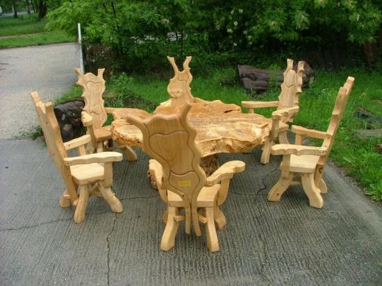 Rustikale Gartenmöbel 709079