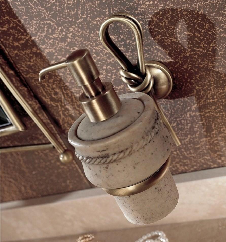 Badezimmermbel Rustikal: Rustikaler Waschtisch Aus Travertin Stein