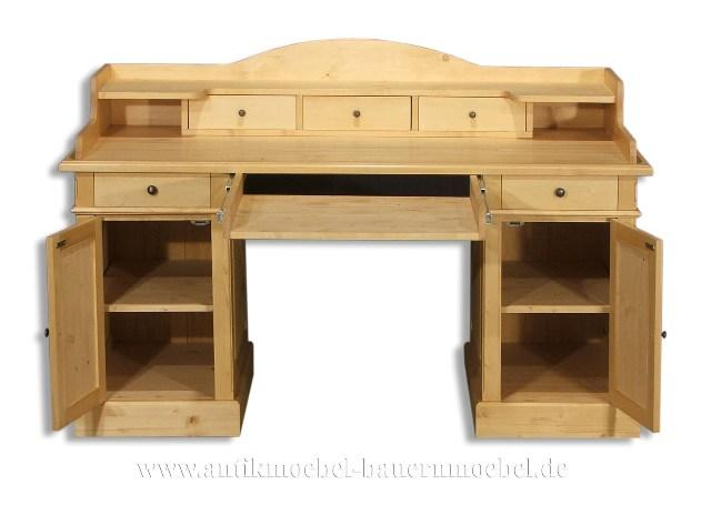 sbt 25 sta schreibtisch pc tisch massivholz 881250. Black Bedroom Furniture Sets. Home Design Ideas