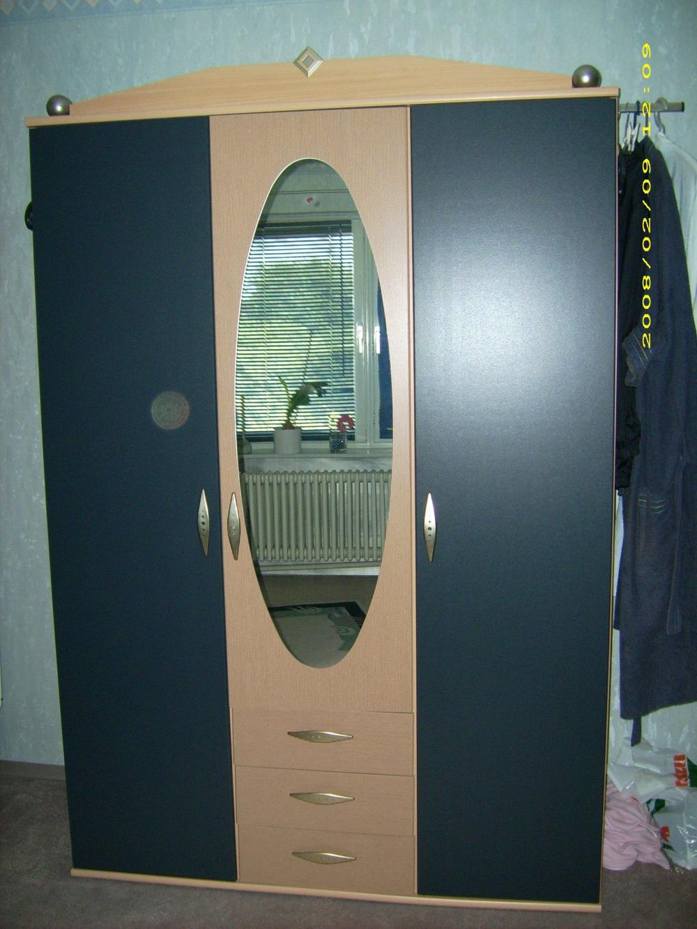 schlafzimmerschrank buche grau 489176. Black Bedroom Furniture Sets. Home Design Ideas