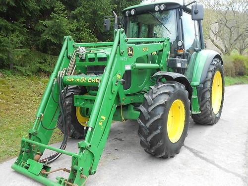 schlepper traktor john deere 6320 mit allrad frontlader. Black Bedroom Furniture Sets. Home Design Ideas