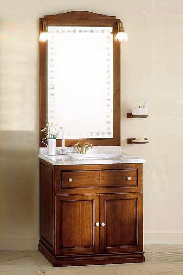 schmaler waschtisch 75 cm breit mit marmorplatte 865102. Black Bedroom Furniture Sets. Home Design Ideas