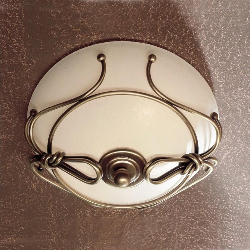 Schmiedeeiserne deckenlampe für ihr badezimmer   854286