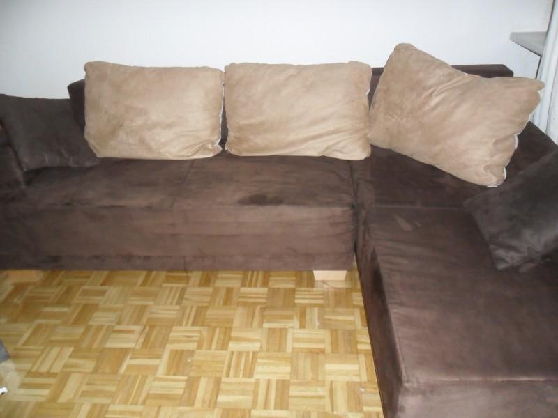 sch ne braune couch zu verkaufen 504667. Black Bedroom Furniture Sets. Home Design Ideas