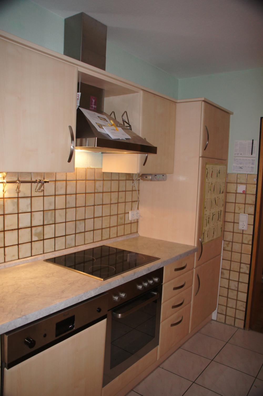 Schöne Küche in Ahorn-Optik - 731461
